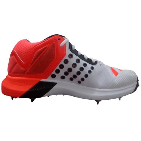 Adidas ADIPOWER Vector Mid Full Spike Cricket Shoes Red