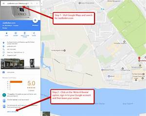 How To Review JustBoilers.com on Google Maps - Just Boilers