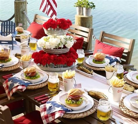 4th of july table centerpieces patriotic 4th of july decorations table centerpieces fftk
