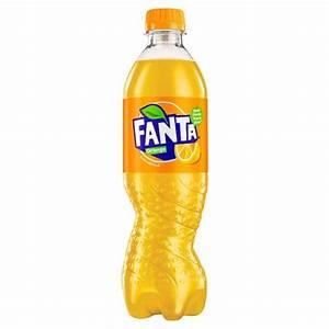 Fanta Orange - Fizzy Bottles - Drinks