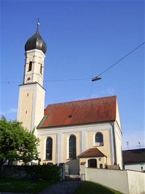 Die Kapelle St Peter Und Paul In Hausen Bei Hofhegnenberg