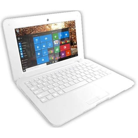 pc bureau auchan ordinateur portable netbook 32go blanc selecline pas