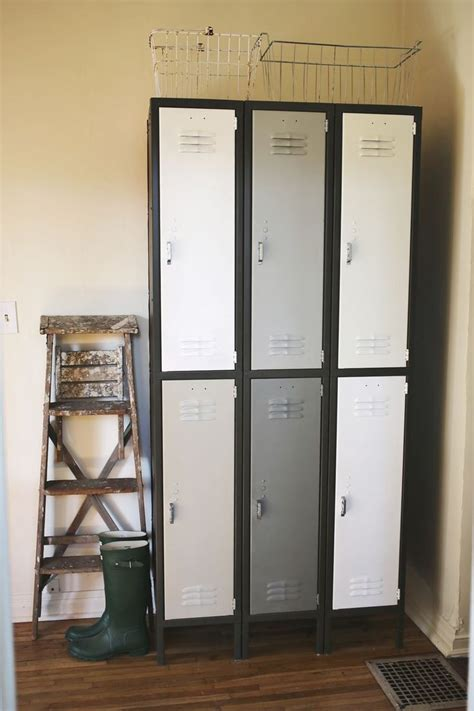 ideas  repurposed lockers  pinterest
