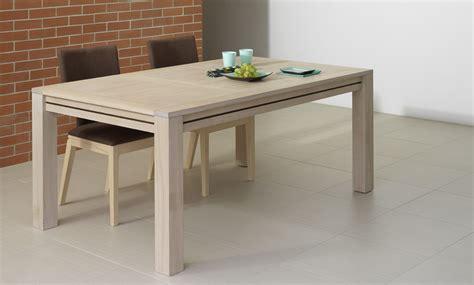 table carrée avec rallonge table sejour avec rallonge table a manger en bois massif trendsetter