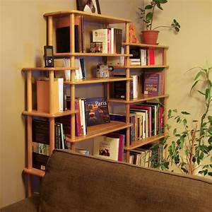 Bibliothèque En Bois Massif : solution bibliotheque modulable en bois massif ~ Teatrodelosmanantiales.com Idées de Décoration