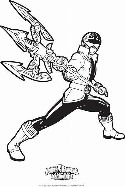 Power Coloring Mask Pages Ranger Rangers Printable