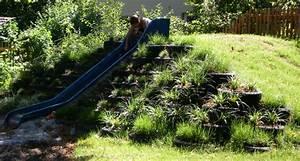Klettergerüst Garten Günstig : neu gestalteter spielh gel mit rutsche und rodelseite garten pinterest ~ Whattoseeinmadrid.com Haus und Dekorationen