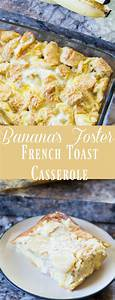 Bananas Fosters Topped Overnight French Toast Recipe