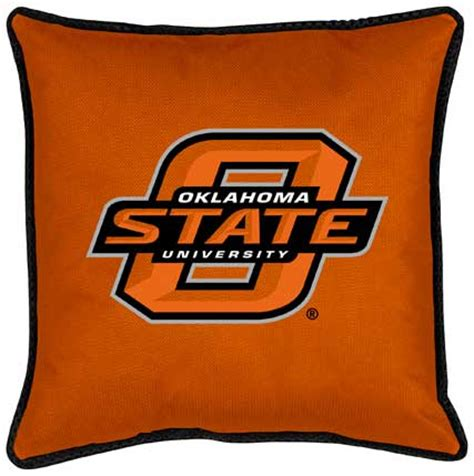 Osu Okc Help Desk by Oklahoma State Cowboys Side Lines Toss Pillow