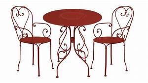 Table De Jardin Bistrot : un mobilier de jardin style bistrot ~ Teatrodelosmanantiales.com Idées de Décoration