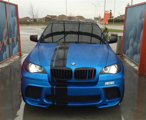 bmw  matt metallic azure blue pornjava dream cars