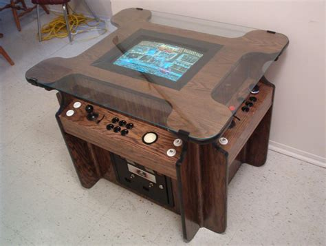 Mame Arcade Cocktail Cabinet Plans by Build Your Own Arcade Controls Faq Message Board
