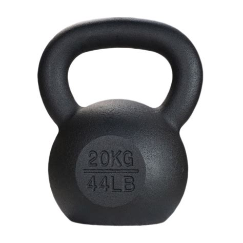 kettlebell 20kg kg fitness coated