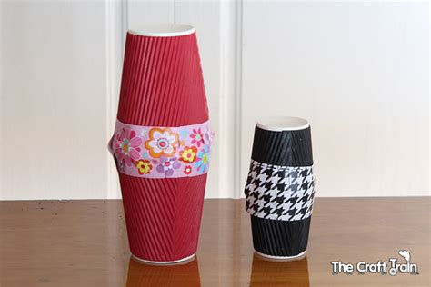 awesome paper cup instruments  craft train