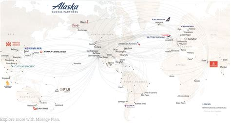 Alaska Airlines Route Map - Maplets