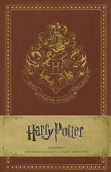 harry potter hogwarts hardcover ruled journal englisches
