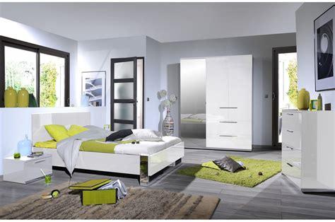 chambre blanche chambre design laqué blanche et chrome trendymobilier com