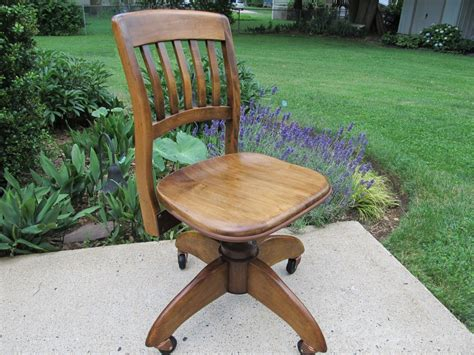 wh gunlocke chair co wayland vintage office chair w h gunlocke bankers chair