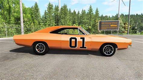 General Dodge Charger by Dodge Charger Rt 1970 General For Beamng Drive