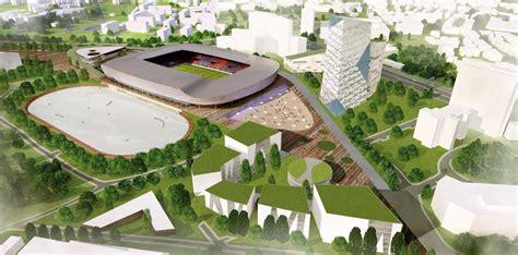 valerenga football stadium oslo building  architect