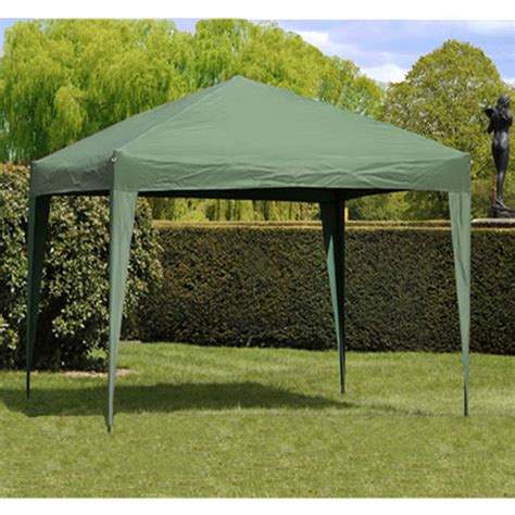 Easy Gazebo by Camelot Easy Up Gazebo 3x3m Olive On Sale Fast Delivery