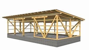Holzhalle Selber Bauen : werkplanung einer maschinenhalle f r cnc abbund mit ~ Lizthompson.info Haus und Dekorationen