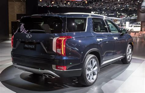 Cost Of 2020 Hyundai Palisade by 2020 Hyundai Palisade Suv Colors Release Date Redesign