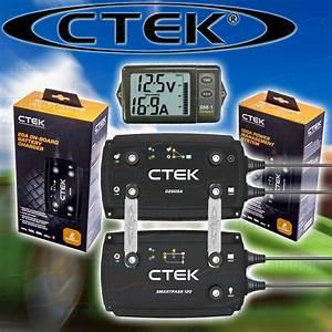Ctek 120 Amp Offroad Dc Dc Solar Battery Charger 12v Agm