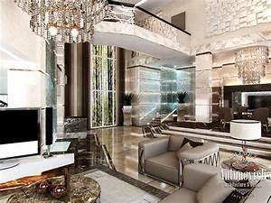 Luxury, Antonovich, Design, Uae, Villa, Design, In, Palm