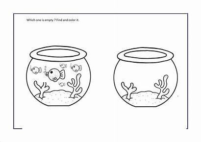 Empty Worksheets Preschool Kindergarten Crafts Preschoolactivities Math