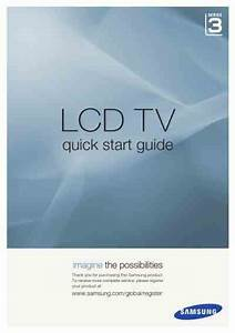 Samsung Le32a336j1d Tv   Television Download User Guide For