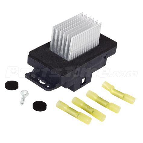 Hvac Heater Blower Motor Resistor Fits Chevrolet