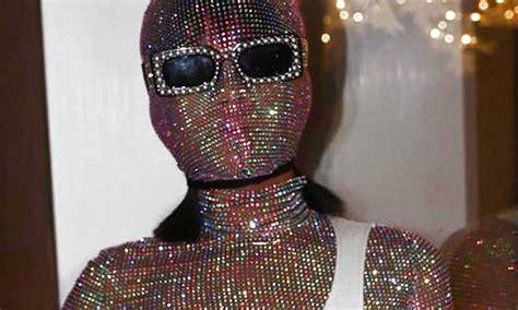 rihanna wore  crystal gucci outfit  coachella