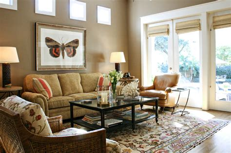 houzz newman home transitional living room tampa