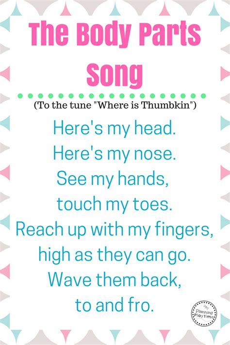 10 preschool songs about parts preschool songs 576 | abac571be154bc06deaa0a5ca2ac747e
