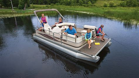 Lund Pontoon Boats by Ontario Fishing Lodge Lund Fishing Boats Pontoon Boats