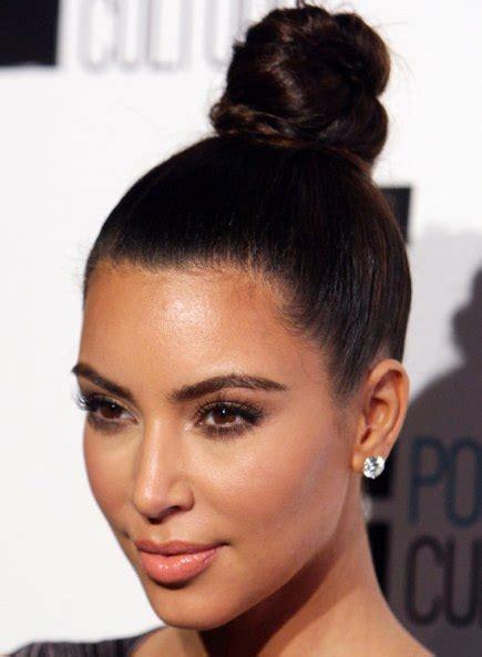 trendy high bun updos