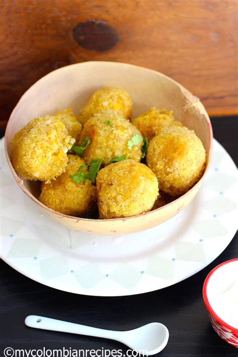 juju green plantain  cheese balls  colombian recipes
