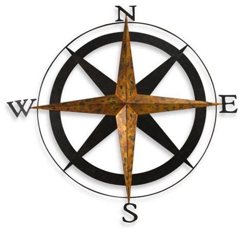 bed bath and beyond metal wall decor metal compass wall traditional artwork by bed