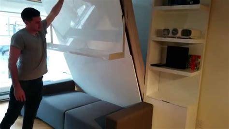 murphysofa float wall bed sofa  vancouver canada youtube