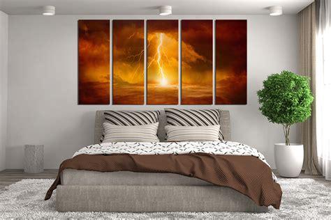 piece huge canvas print abstract canvas art prints
