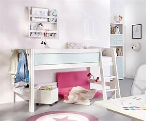 Chambre enfant ecologique avec lit mi haut lifetime for Tapis chambre enfant avec canapé écologique