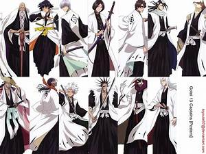 Bleach Part 2 Gotei 13 Favorite Captain? | Anime Amino