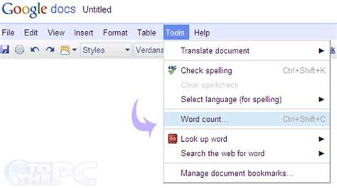 Đếm số từ, kí tự trong tài liệu Google Docs - Thông tin ...
