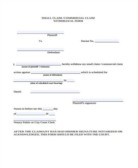 commercial court claim form n1cc claim form exles