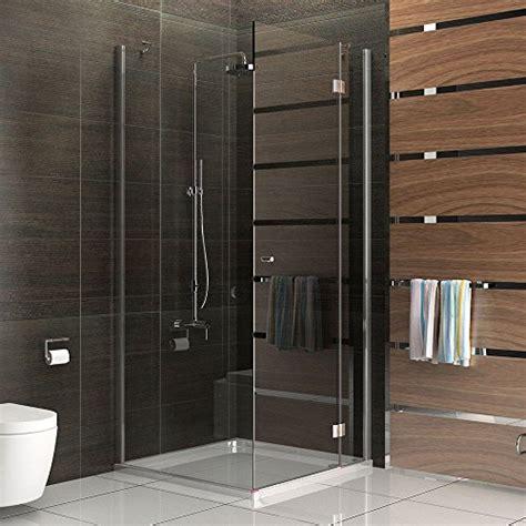 duschkabine 80x80 komplett duschkabine rahmenlos duschabtrennung aus sicherheitsglas dusche komplett dreht 252 r 80x80 x 200 cm