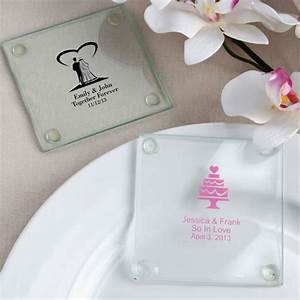 120 personalized glass coasters wedding baby shower With glass coasters wedding favors