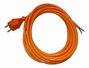 Glühbirnenfassung Mit Kabel : 5m zuleitung h07bq f 2x1 5mm mit stecker orange 2724050 gummikabel titanex kabel ~ Orissabook.com Haus und Dekorationen