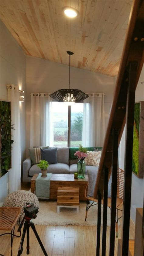 tiny houses connected  sunroom