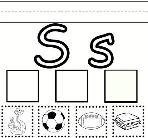 preschool learning letter  practice  printable